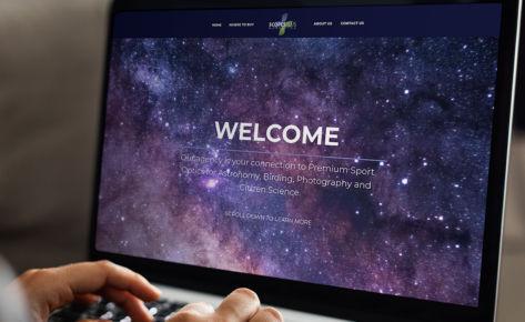 Scopes Plus Logo and Website Design