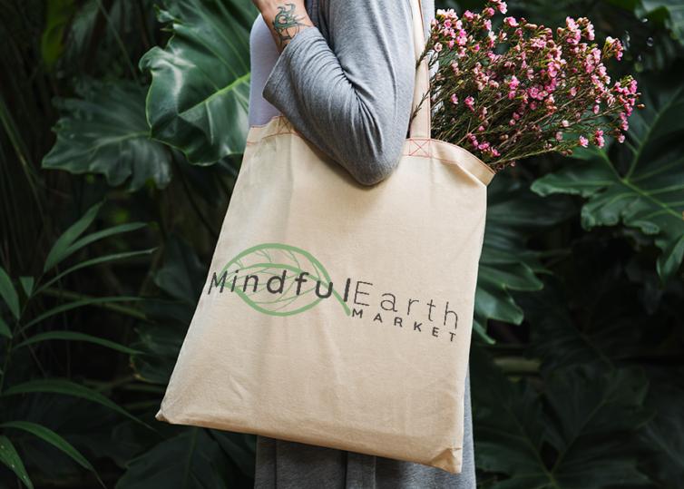 Mindful Earth Market Logo & Web Design