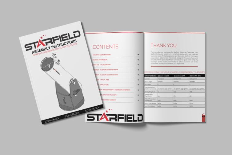 Starfield Optics Dobsonian Telescope Owners Manual